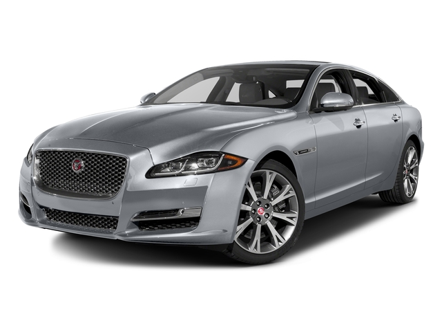 Glacier White Metallic 2016 Jaguar XJ Pictures XJ Sedan 4D L Portfolio AWD V6 Sprchrd photos front view
