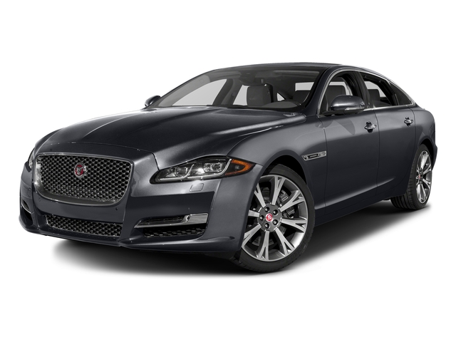 Tempest Gray 2016 Jaguar XJ Pictures XJ Sedan 4D L Portfolio AWD V6 Sprchrd photos front view