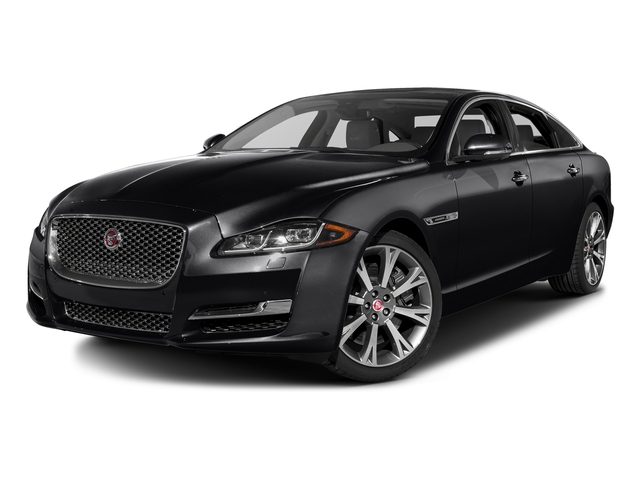 Ebony 2016 Jaguar XJ Pictures XJ Sedan 4D L Portfolio AWD V6 Sprchrd photos front view