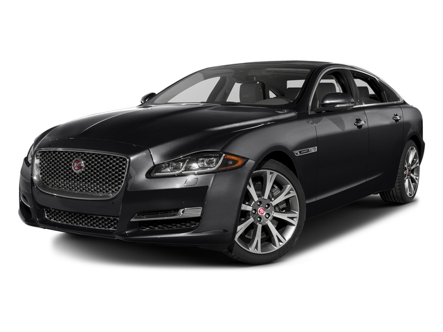 Storm Gray 2016 Jaguar XJ Pictures XJ Sedan 4D L Portfolio AWD V6 Sprchrd photos front view