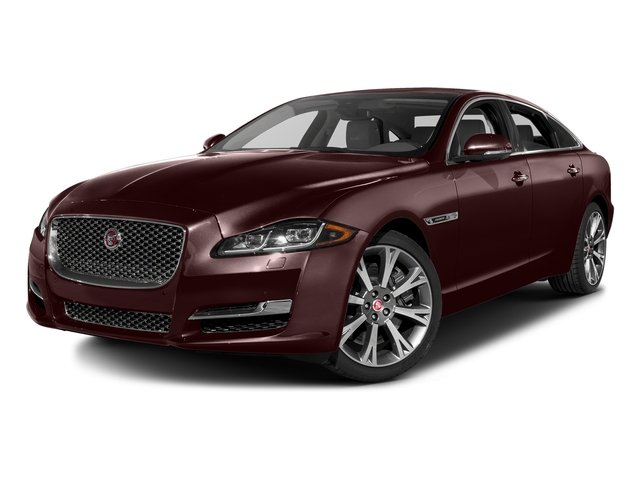 Aurora Red Metallic 2016 Jaguar XJ Pictures XJ Sedan 4D L Portfolio AWD V6 Sprchrd photos front view