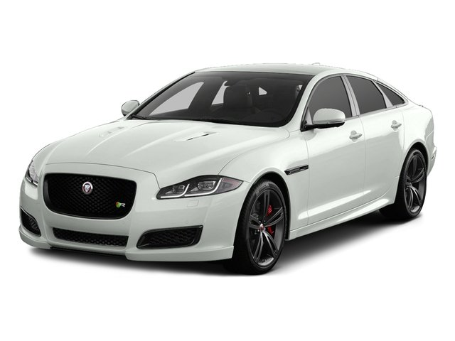 Polaris White 2016 Jaguar XJ Pictures XJ Sedan 4D XJR V8 Supercharged photos front view