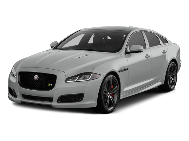 Rhodium Silver Metallic 2016 Jaguar XJ Pictures XJ Sedan 4D XJR V8 Supercharged photos front view