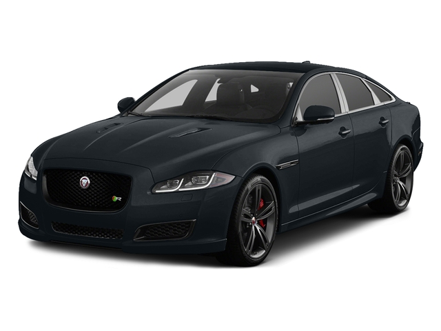 Celestial Black 2016 Jaguar XJ Pictures XJ Sedan 4D XJR V8 Supercharged photos front view