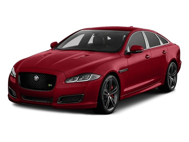 Italian Racing Red Metallic 2016 Jaguar XJ Pictures XJ Sedan 4D XJR V8 Supercharged photos front view
