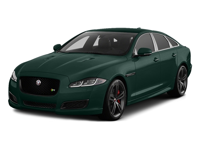 British Racing Green Metallic 2016 Jaguar XJ Pictures XJ Sedan 4D L XJR V8 Supercharged photos front view