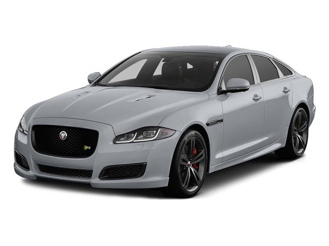 Glacier White Metallic 2016 Jaguar XJ Pictures XJ Sedan 4D XJR V8 Supercharged photos front view