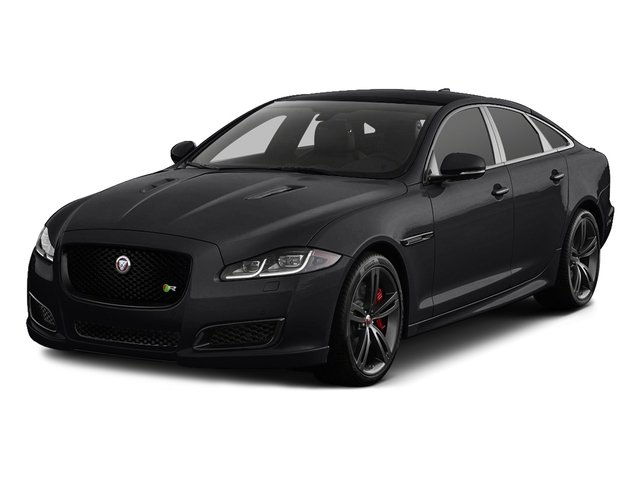 Ebony 2016 Jaguar XJ Pictures XJ Sedan 4D XJR V8 Supercharged photos front view