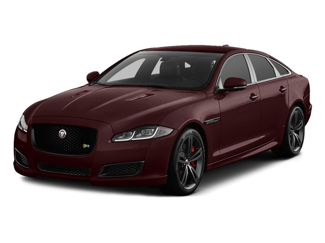 Aurora Red Metallic 2016 Jaguar XJ Pictures XJ Sedan 4D XJR V8 Supercharged photos front view