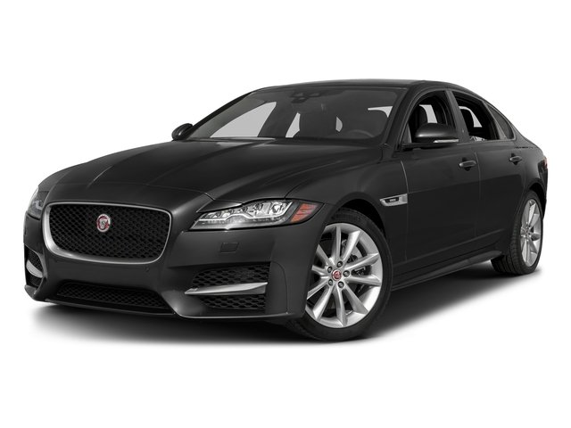 Storm Gray 2016 Jaguar XF Pictures XF Sedan 4D 35t R-Sport AWD V6 Sprchrd photos front view
