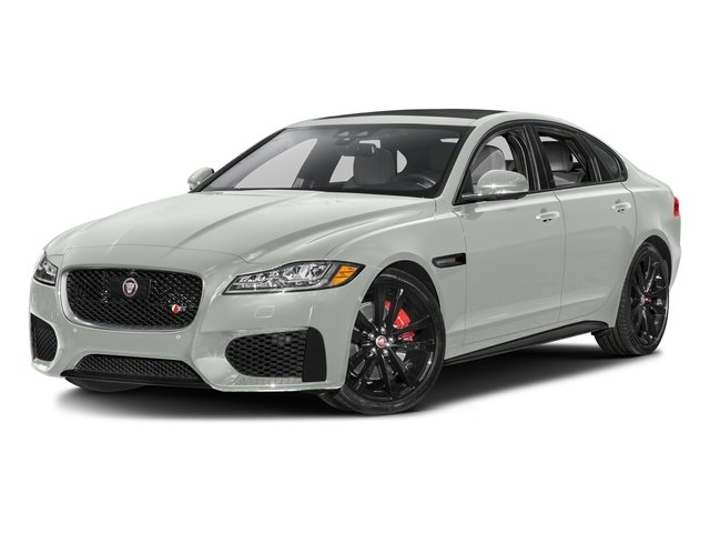 Polaris White 2016 Jaguar XF Pictures XF Sedan 4D XF-S AWD V6 Supercharged photos front view