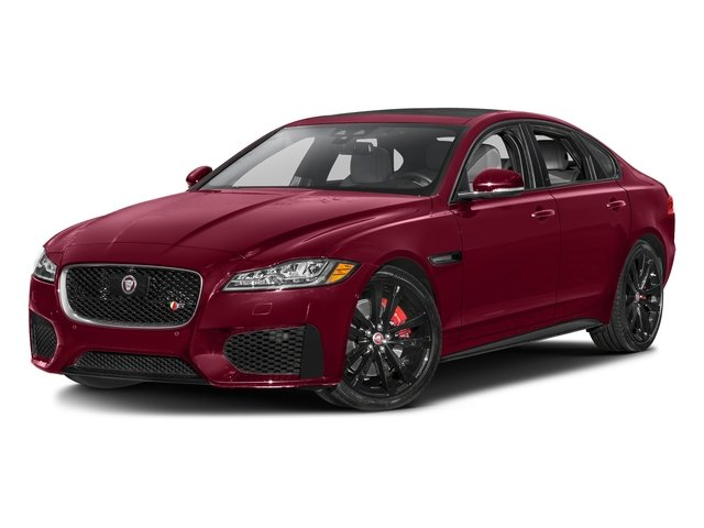 Odyssey Red Metallic 2016 Jaguar XF Pictures XF Sedan 4D XF-S AWD V6 Supercharged photos front view