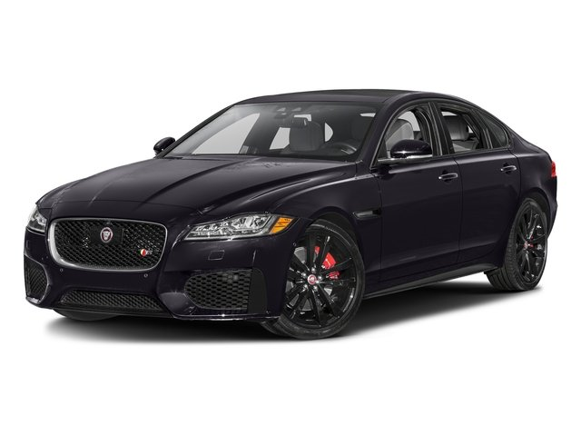 Black Berry 2016 Jaguar XF Pictures XF Sedan 4D XF-S AWD V6 Supercharged photos front view