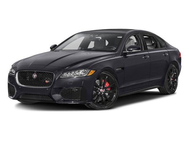 Tempest Gray 2016 Jaguar XF Pictures XF Sedan 4D XF-S AWD V6 Supercharged photos front view