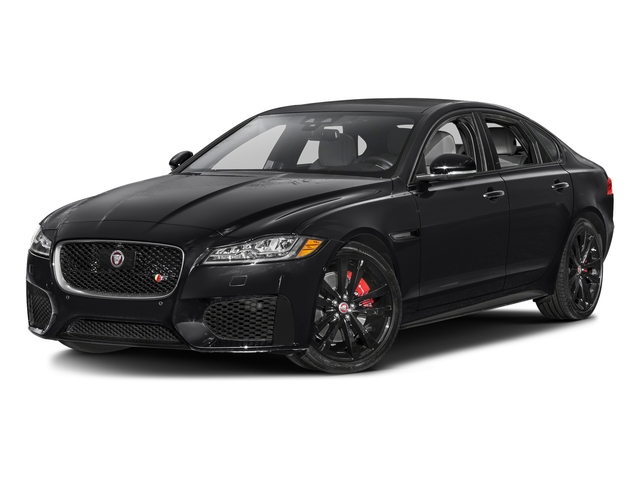 Ebony Black 2016 Jaguar XF Pictures XF Sedan 4D XF-S AWD V6 Supercharged photos front view
