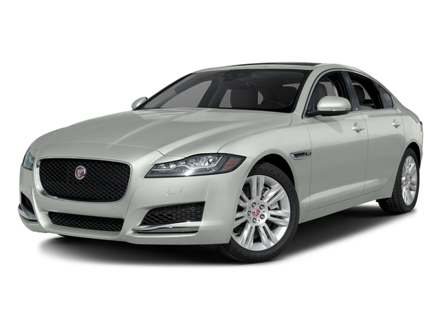 Polaris White 2016 Jaguar XF Pictures XF Sedan 4D 35t Premium V6 Supercharged photos front view