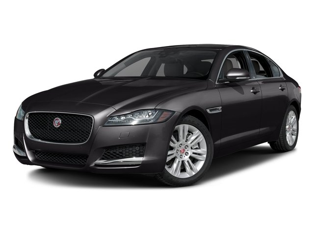 Ultimate Black Metallic 2016 Jaguar XF Pictures XF Sedan 4D 35t Premium V6 Supercharged photos front view