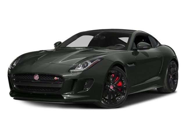 Ammonite Gray Metallic 2016 Jaguar F-TYPE Pictures F-TYPE Coupe 2D S AWD V6 photos front view