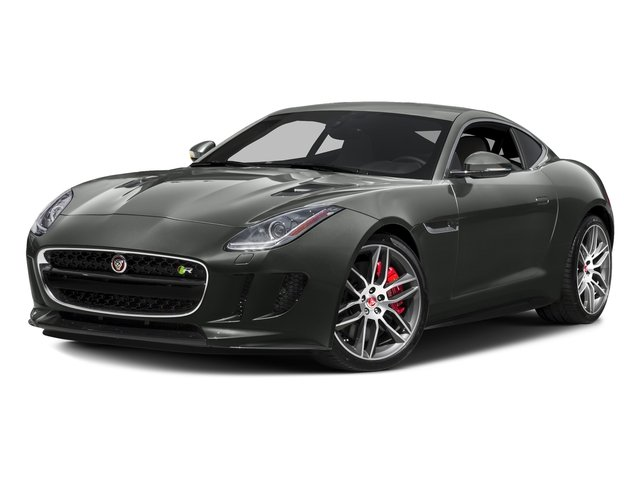 Ammonite Gray Metallic 2016 Jaguar F-TYPE Pictures F-TYPE Coupe 2D R AWD V8 photos front view