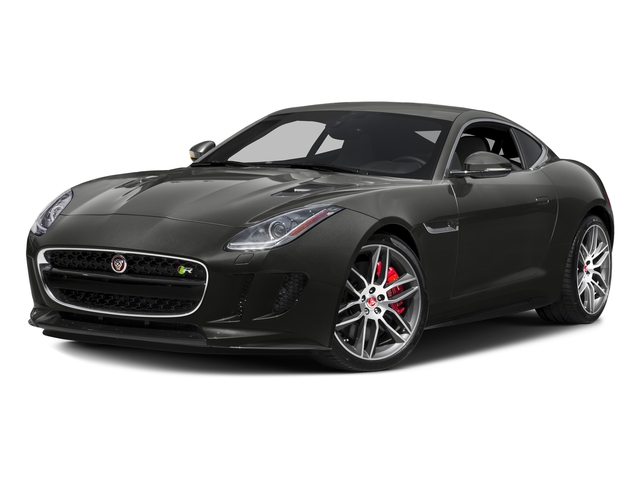 Stratus Gray Metallic 2016 Jaguar F-TYPE Pictures F-TYPE Coupe 2D R AWD V8 photos front view