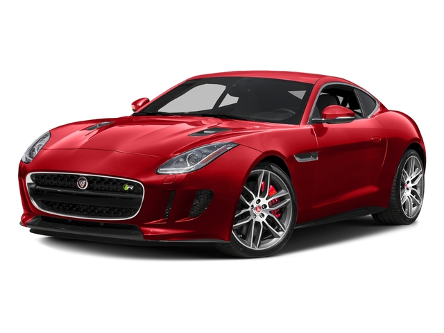 Caldera Red Metallic 2016 Jaguar F-TYPE Pictures F-TYPE Coupe 2D R AWD V8 photos front view