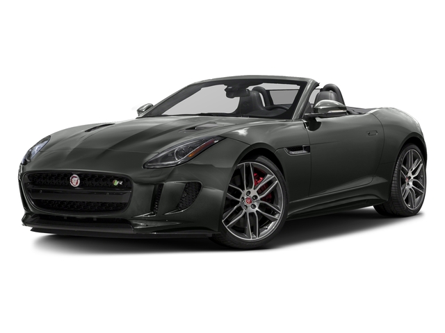Ammonite Gray Metallic 2016 Jaguar F-TYPE Pictures F-TYPE Convertible 2D R AWD V8 photos front view
