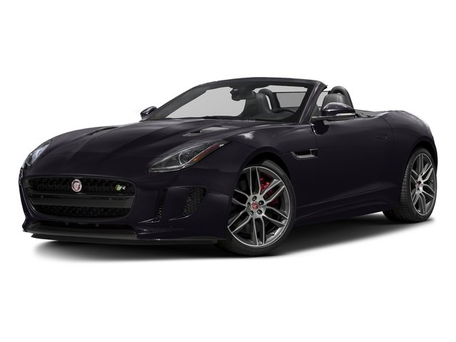 Black Berry 2016 Jaguar F-TYPE Pictures F-TYPE Convertible 2D R AWD V8 photos front view