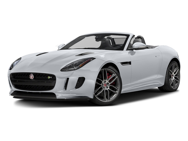 Glacier White Metallic 2016 Jaguar F-TYPE Pictures F-TYPE Convertible 2D R AWD V8 photos front view