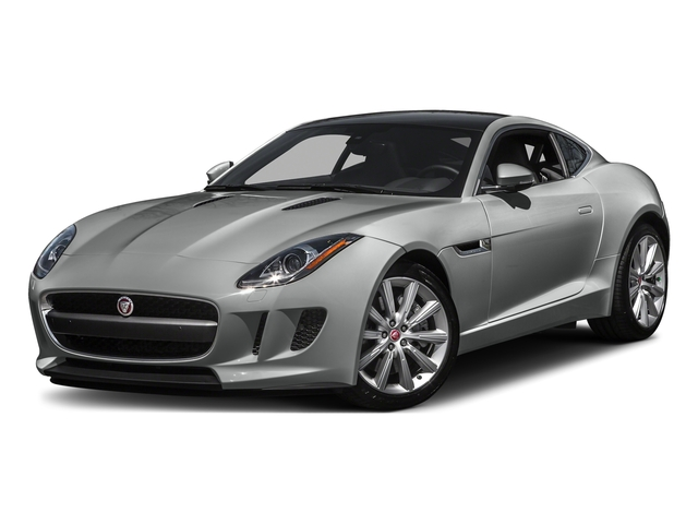 Rhodium Silver Metallic 2016 Jaguar F-TYPE Pictures F-TYPE Coupe 2D V6 photos front view