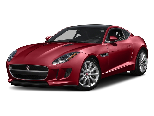 Italian Racing Red Metallic 2016 Jaguar F-TYPE Pictures F-TYPE Coupe 2D V6 photos front view