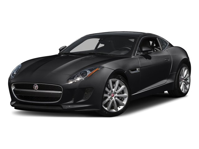 Ebony Black 2016 Jaguar F-TYPE Pictures F-TYPE Coupe 2D V6 photos front view