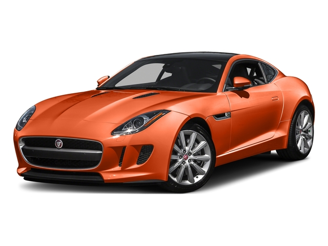Firesand Metallic 2016 Jaguar F-TYPE Pictures F-TYPE Coupe 2D V6 photos front view