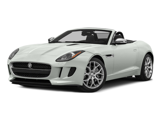 Polaris White 2016 Jaguar F-TYPE Pictures F-TYPE Convertible 2D V6 photos front view