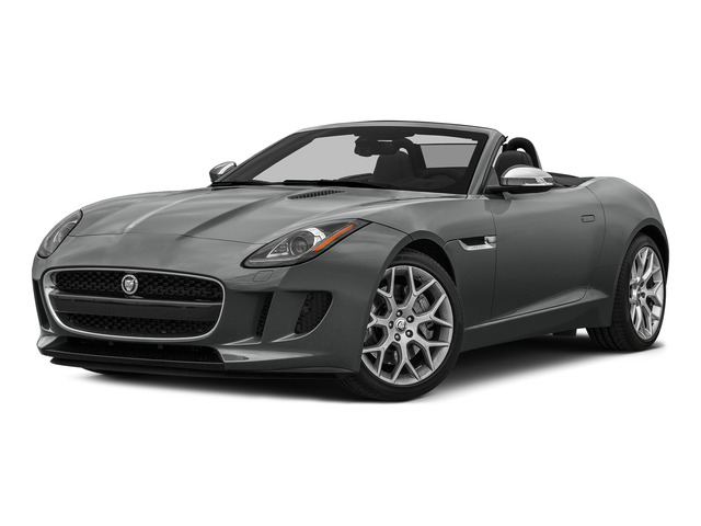 Ammonite Gray Metallic 2016 Jaguar F-TYPE Pictures F-TYPE Convertible 2D V6 photos front view