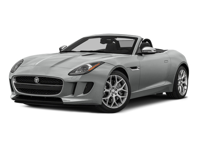 Rhodium Silver Metallic 2016 Jaguar F-TYPE Pictures F-TYPE Convertible 2D V6 photos front view