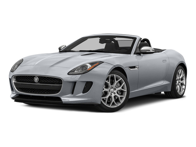 Glacier White Metallic 2016 Jaguar F-TYPE Pictures F-TYPE Convertible 2D V6 photos front view