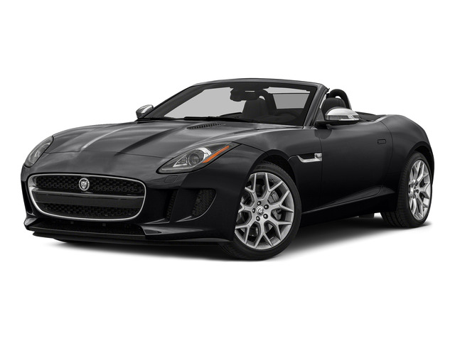 Ebony Black 2016 Jaguar F-TYPE Pictures F-TYPE Convertible 2D V6 photos front view