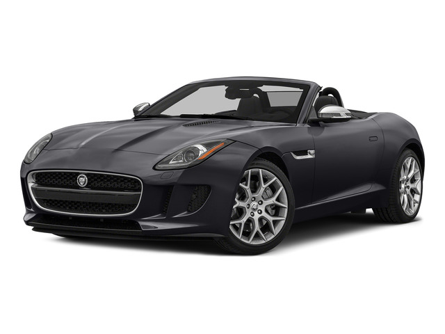 Stratus Gray Metallic 2016 Jaguar F-TYPE Pictures F-TYPE Convertible 2D V6 photos front view