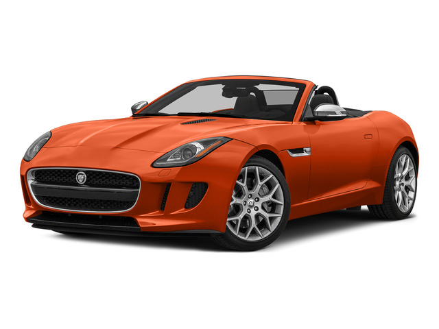 Firesand Metallic 2016 Jaguar F-TYPE Pictures F-TYPE Convertible 2D V6 photos front view