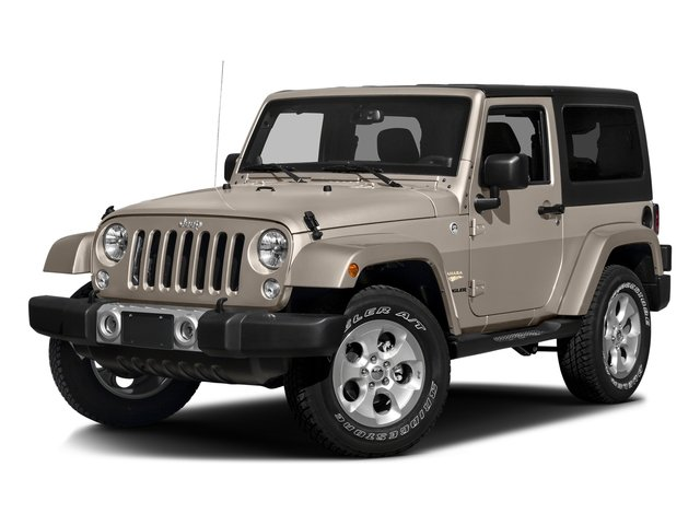 Mojave Sand Clearcoat 2016 Jeep Wrangler Pictures Wrangler Utility 2D Sahara 4WD V6 photos front view
