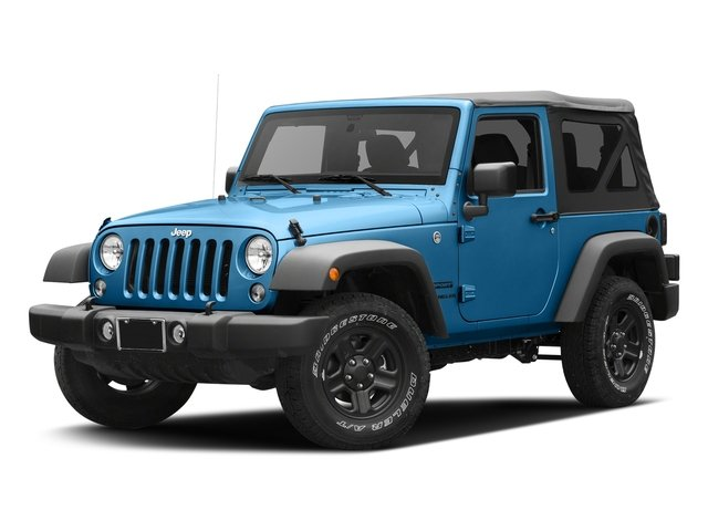 Hydro Blue Pearlcoat 2016 Jeep Wrangler Pictures Wrangler Utility 2D Sport 4WD V6 photos front view