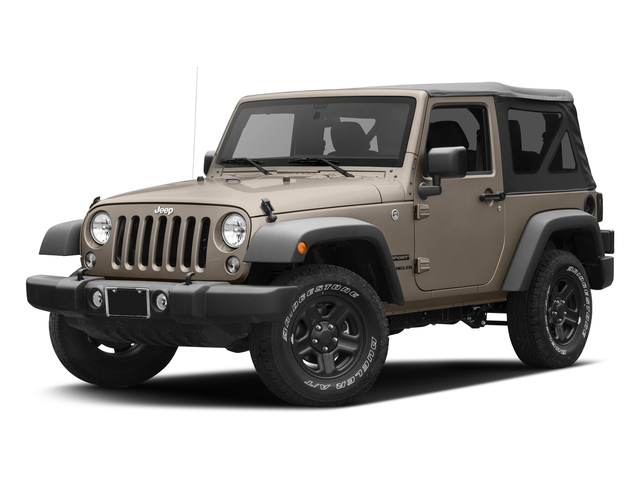 Mojave Sand Clearcoat 2016 Jeep Wrangler Pictures Wrangler Utility 2D Sport 4WD V6 photos front view
