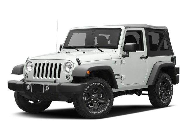 Bright White Clearcoat 2016 Jeep Wrangler Pictures Wrangler Utility 2D Sport 4WD V6 photos front view