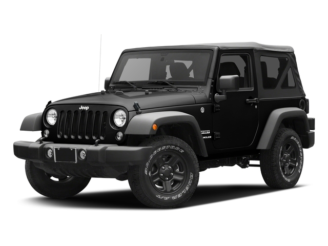 Black Clearcoat 2016 Jeep Wrangler Pictures Wrangler Utility 2D Sport 4WD V6 photos front view