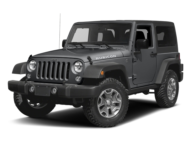 Granite Crystal Metallic Clearcoat 2016 Jeep Wrangler Pictures Wrangler Utility 2D Rubicon 4WD V6 photos front view