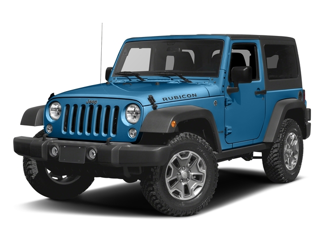 Hydro Blue Pearlcoat 2016 Jeep Wrangler Pictures Wrangler Utility 2D Rubicon 4WD V6 photos front view