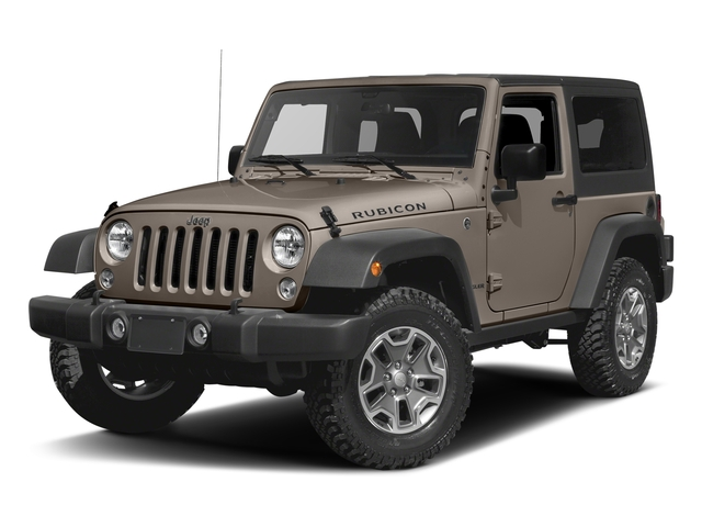 Mojave Sand Clearcoat 2016 Jeep Wrangler Pictures Wrangler Utility 2D Rubicon 4WD V6 photos front view