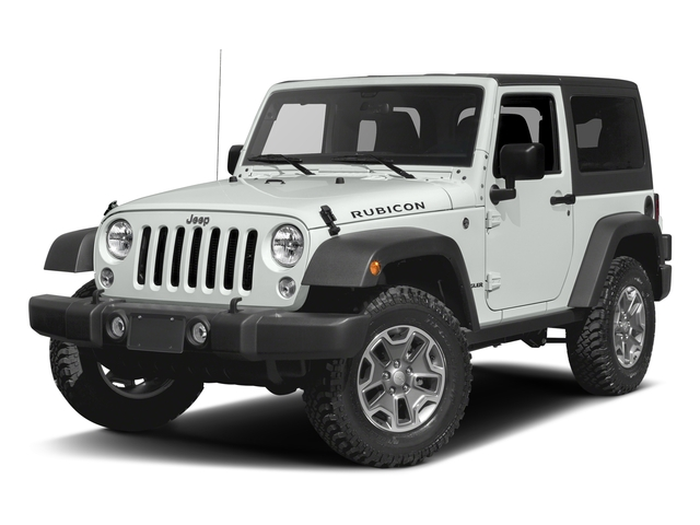 Bright White Clearcoat 2016 Jeep Wrangler Pictures Wrangler Utility 2D Rubicon 4WD V6 photos front view