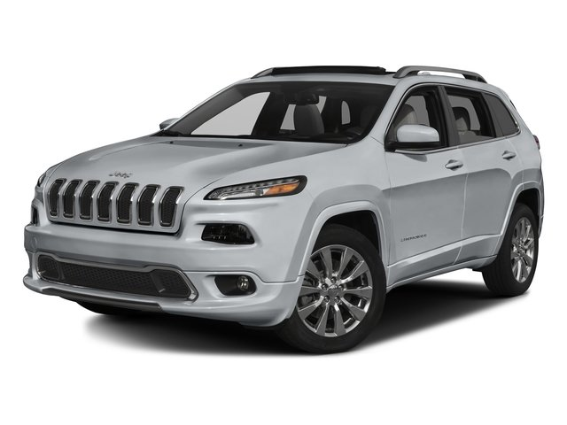 Billet Silver Metallic Clearcoat 2016 Jeep Cherokee Pictures Cherokee Utility 4D Overland 4WD photos front view