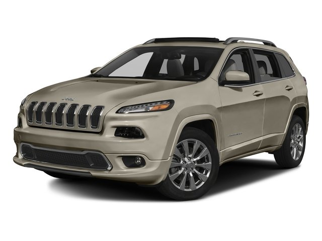 Light Brownstone Pearlcoat 2016 Jeep Cherokee Pictures Cherokee Utility 4D Overland 4WD photos front view